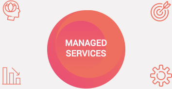 Icon Wheel with Managed Services at Center